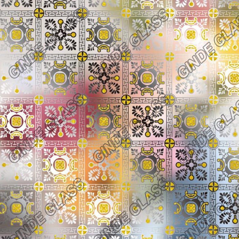 Decorative Acid Ice Flower Glass Manufacture Wholesales China Company