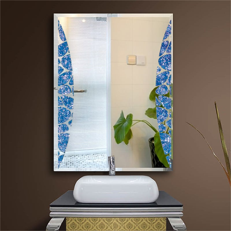 vanity mirror manufacturer wholesales blue