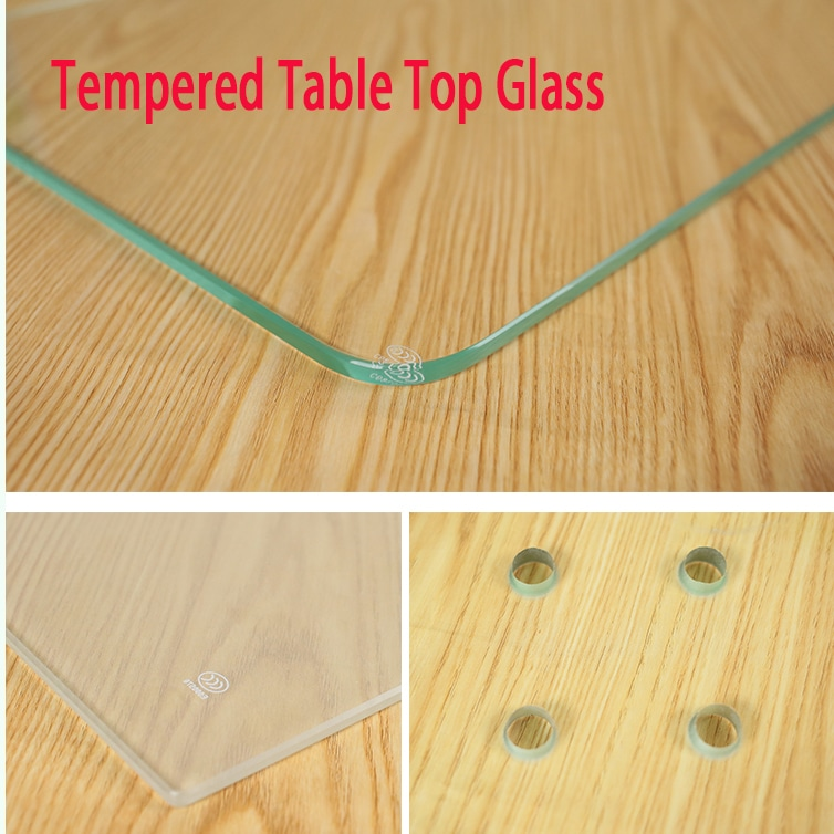 tempered glass table top picture photo factory