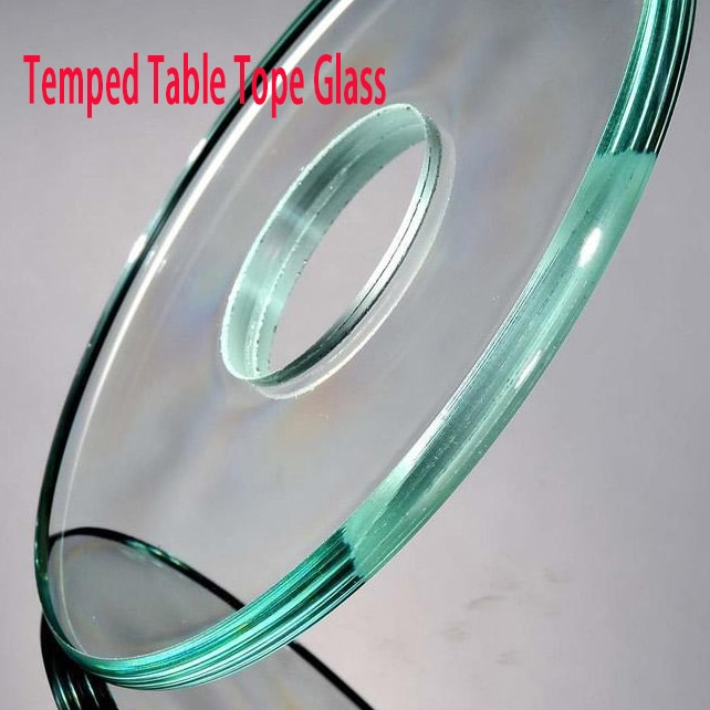 tempered glass table top wooden crate packing