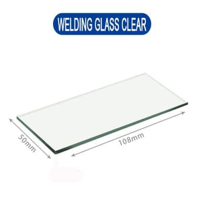 welding glass clear