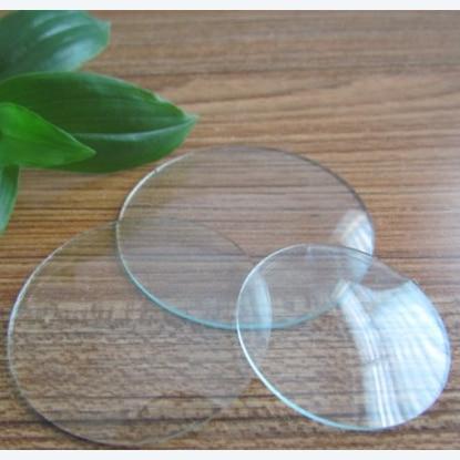 convex clock cover glass