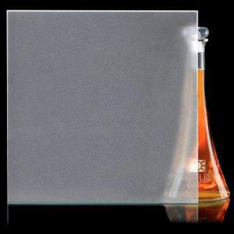opaque acid frosted glass