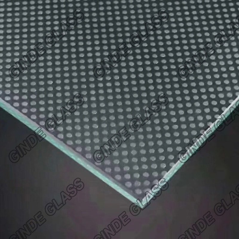 Anti slip non slip glass supplier