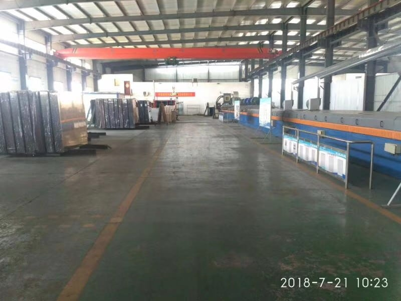 ginde glass production line company introduction