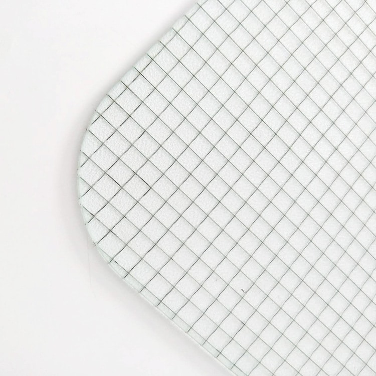 wired mesh glass