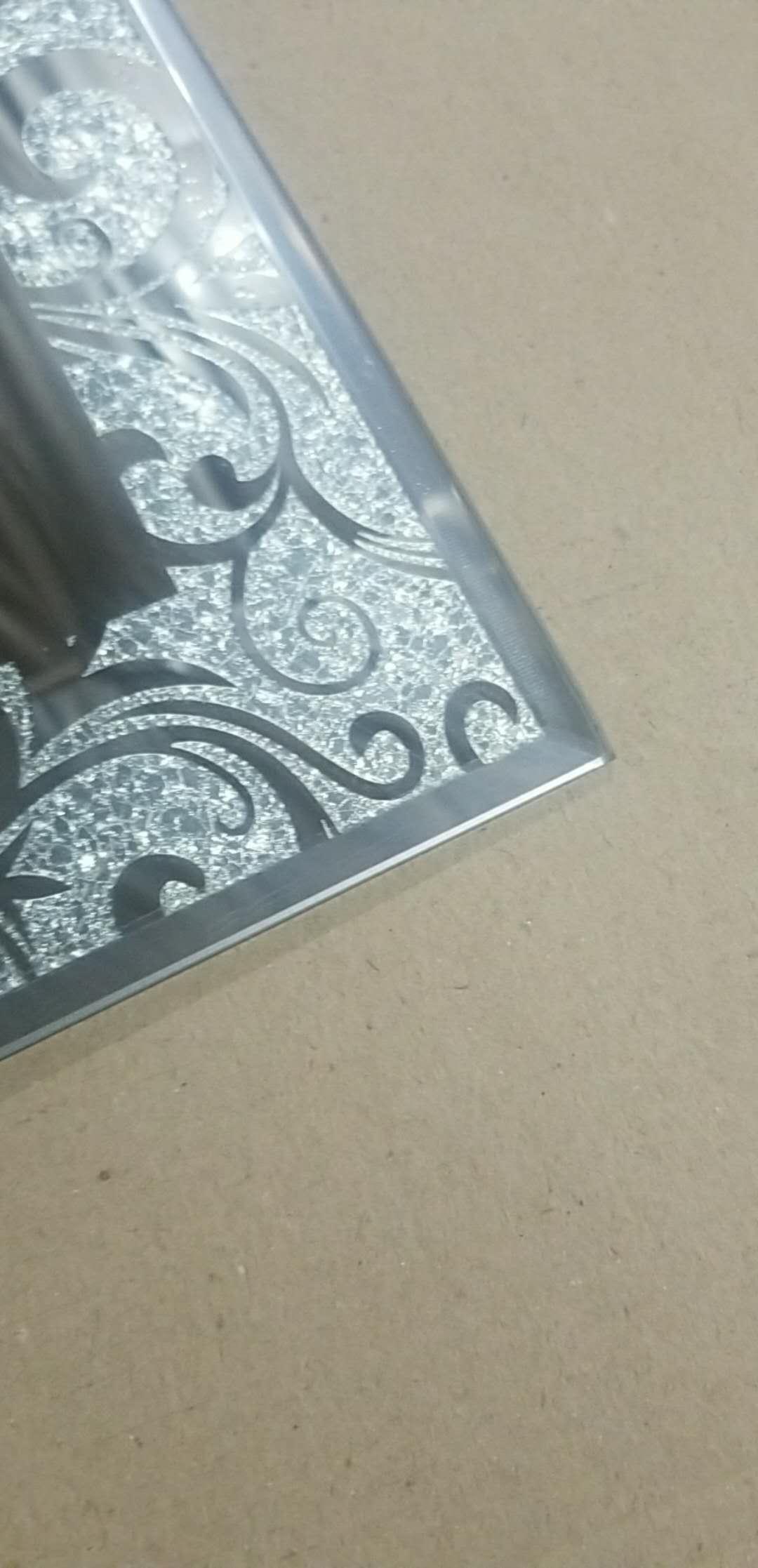 bathroom mirror full sheet design bevelleding