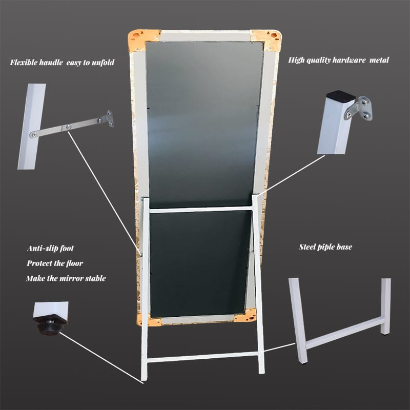 full length of dressing mirror